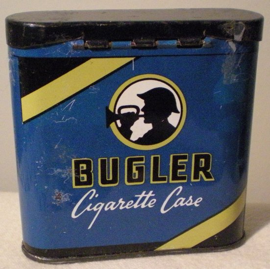 Bugler Metal Cigarette Case