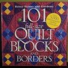 101 Full Size Quilt Blocks