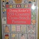 555 Country Cross-Stitch Patterns - Donna Kooler