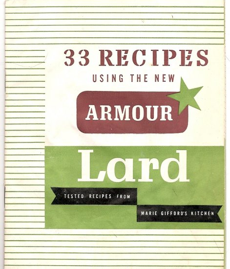 SCARY Lard Recipes