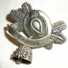 "WW I Era ""Ramsau"" Hat Souvenir Pin"