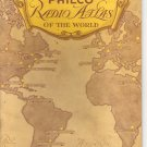 1935 Philco Radio Atlas of the World