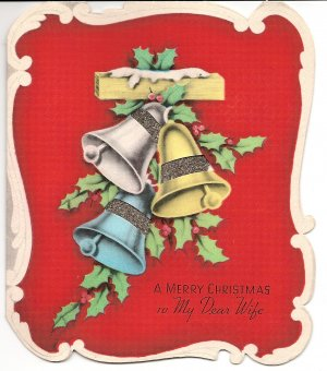 1930s Christmas Greeting to My Dear Wife