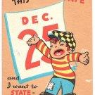 1940s  Christmas Greeting