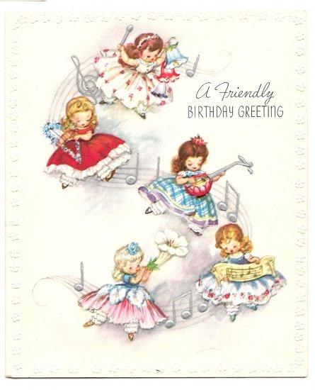 1930s Birthday Greetings - 3 Cards
