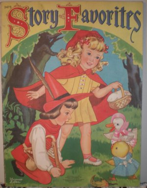 1941 Merrill Publishing Children's Story Favorites