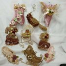 9 Victorian Christmas Ornaments - NICE