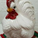 Vintage Atlantic Mold Ceramic Hen Cookie Jar 1970s