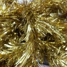 "Vintage Christmas Gold Tinsel Garland 2"" w 120' l (8 - 15ft lengths)"