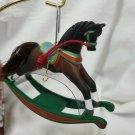 HALLMARK 1994 ROCKING HORSE # 14 IN SERIES ORNAMENT
