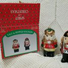 Vintage Spirit of Christmas Soldier Salt & Pepper Shakers with box