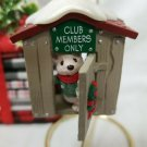 "1988 - Hallmark ""Our Clubhouse"" -- Keepsake Ornament Collectors Club"