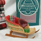 Hallmark 1988 Keepsake Collectors Club Ornament Sleighful of Dreams