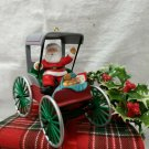 Hallmark Keepsake Ornament Festive Surrey Here Comes Santa 1990 Collector Series