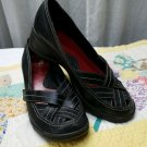 What's What By Aerosoles Shoes Womens Black Leather Pumps Heels SIZE 8M