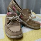 Sperry Top-Sider Women's Boat Shoe Size 7.5 M US Tan