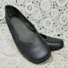 Aerosoles Stitch N Turn Richmond Slip On Ballet Flat Shoes ~ Size 8M Nickel