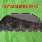 VOLVO DIM REPAIR, VOLVO INSTRUMENT CLUSTER S60 V70 XC70 S80 REPAIR WITH WARRANTY