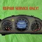 2049003800, Mercedes Benz Instrument Cluster Repair