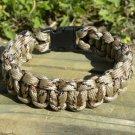 7 Inch Desert Camo Paracord Bracelet