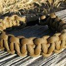 7 Inch Coyote Brown Paracord Bracelet