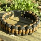 7 Inch Coyote Brown & Olive Drab Paracord Bracelet