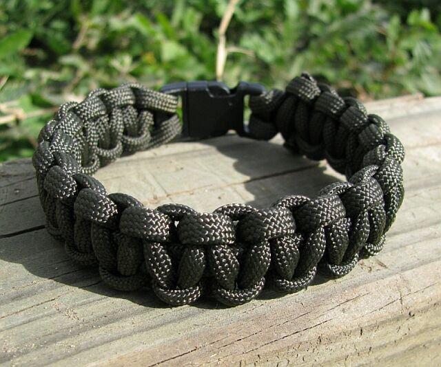 7 Inch Olive Drab Paracord Bracelet
