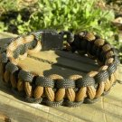 8 Inch Coyote Brown & Olive Drab Paracord Bracelet