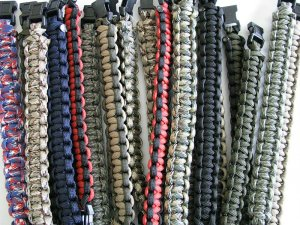 Information on Bulk Orders of Paracord Bracelets