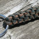 Woodland Camo (BDU) Paracord Key Chain