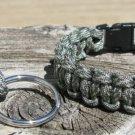 7 Inch ACU Paracord Bracelet & Key Chain