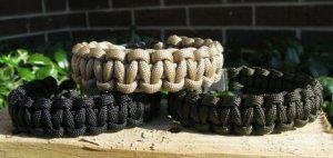Set of 3 Paracord Bracelets