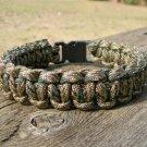 7 Inch Digital Multi Camo Paracord Bracelet