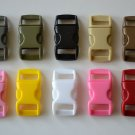 "100 3/8"" Multi Color Side Release Buckles"