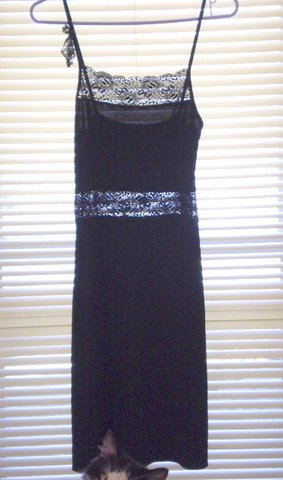 French connection black dress - S//M