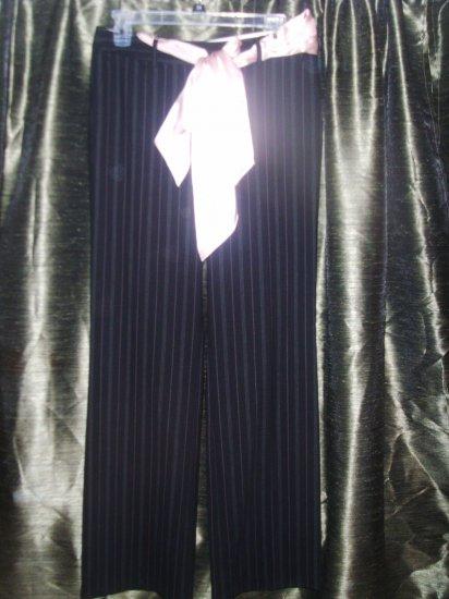 Michael Kors black striped pants size 6