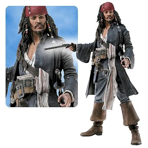 Pirates 2 Captain Jack Sparrow Talking 18-Inch Action Figure
