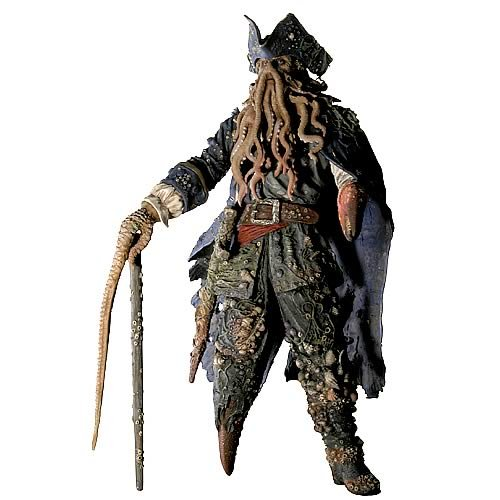 Pirates 2 Davy Jones 12-Inch Figure with Sound