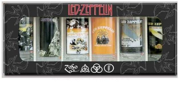 Led Zeppelin Logo Shot Glasses
