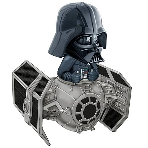 Star Wars Darth Vader TIE Fighter Bobble Head