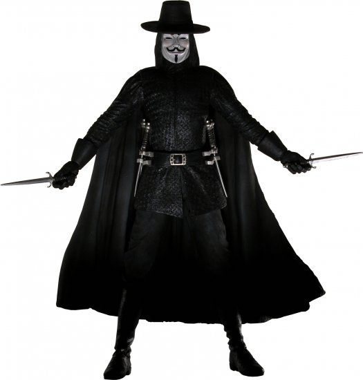 V for Vendetta 12-Inch Talking Action Figure