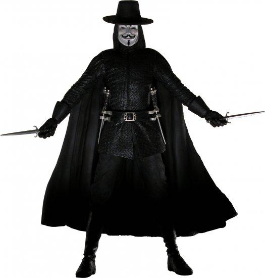 V for Vendetta 12-Inch Talking Action Figure
