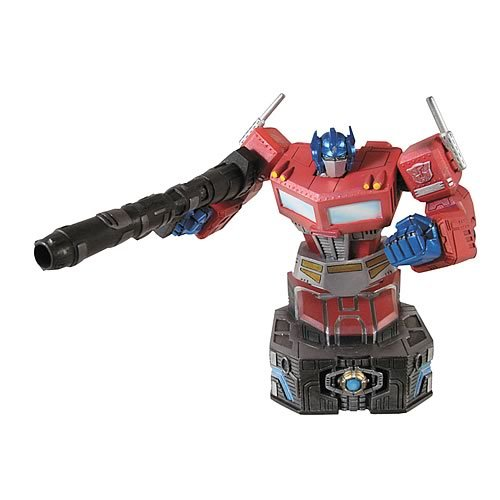Transformers Optimus Prime Bust