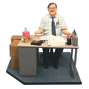 Office Space Milton Action Figure Diorama