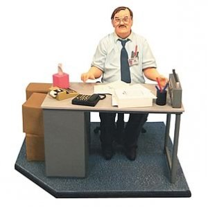 Office Space Milton Action Figure Diorama