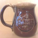 Mccoy Brown Drip Cheese Shaker MINT and Hard to find!