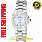 Citizen EW0890-58D Ladies Stainless Steel Riva Eco-Drive with Diamonds Mother of Pearl Dial