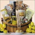 3 Blind Moose Chardonnay: 'Happy Hour' Birthday Wine Gift Basket