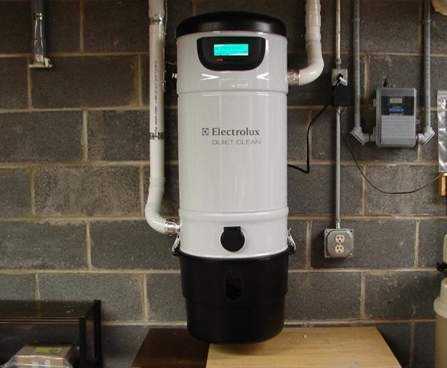 Electrolux Quietclean Pu3900 Central Vac Vacuum System