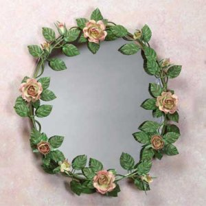 Rose Blossom wall mirror